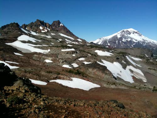 Broken top and South Sister