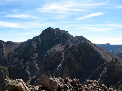 Mt Silverthorne From Hail Peak