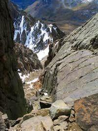 Looking down Mount Sneffels'...