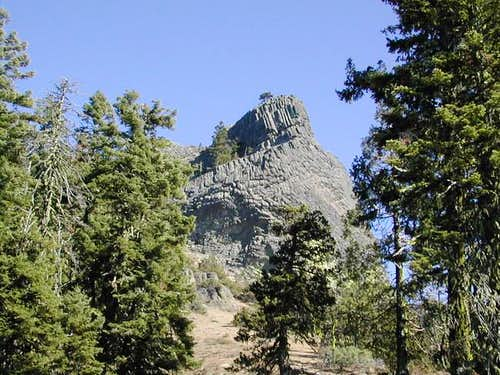 Pilot Rock as seen from the...