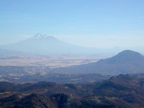 Mount Shasta from the summit....