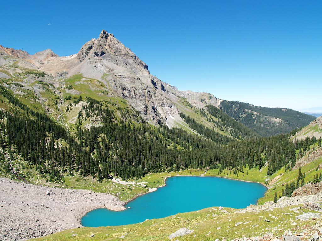 Lower Blue Lake and