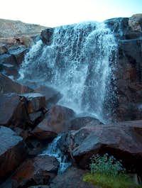 Waterfall seen on approach...