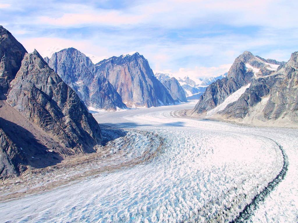 The Great Gorge of the Ruth Glacier
