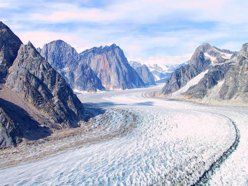 Great Gorge of the Ruth Glacier