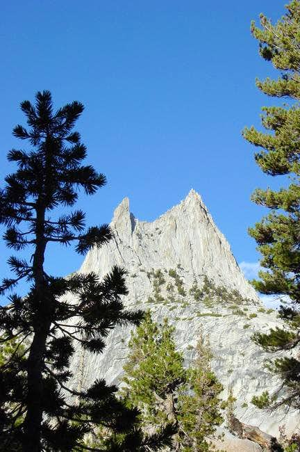 Cathedral Peak from the JMT