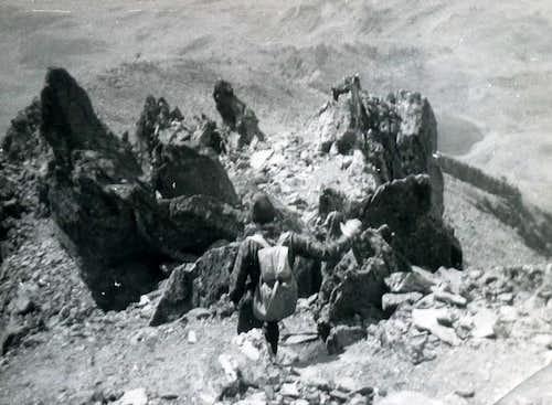 M. Fallére Group Entire Traverse September 1974
