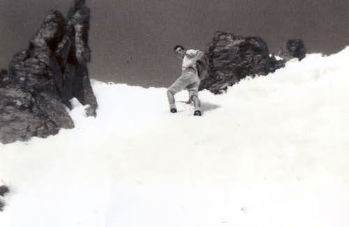 Mont Fallère Spring Couloir 1968