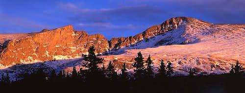 Mt Bierstadt shot from just...