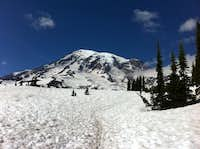 every thing is better twice (Mt. Rainier)