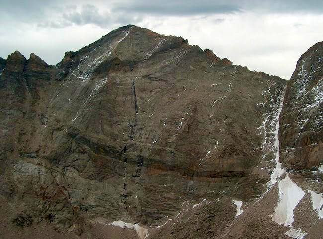 North Face from the Spearhead
