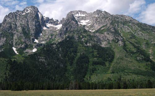 Mount St. John and Rockchuck Peak