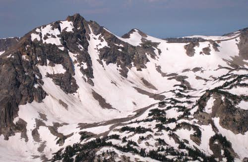 Mount Fryxell and Paintbrush Divide