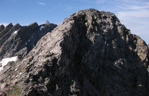 Rockchuck Peak-- Summit