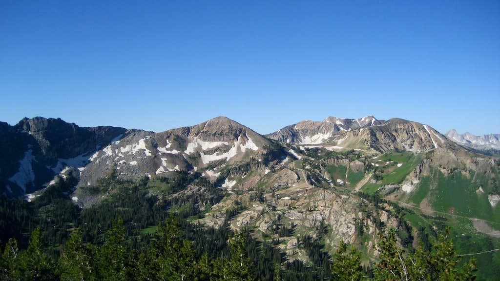 Bullion Divide Peaks from Patsy Marley