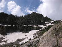 Snowfield and East Ridge