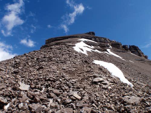 Mt. Willingdon - Summit Cliff Band