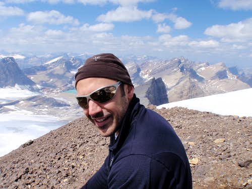 Summit of Mt. Willingdon