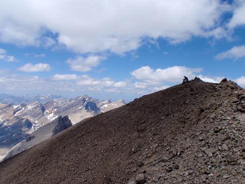 Reading summit register - Mt. Willingdon