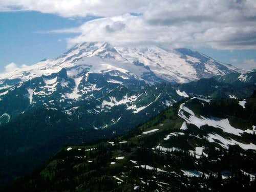 Rainier from Tahtlum