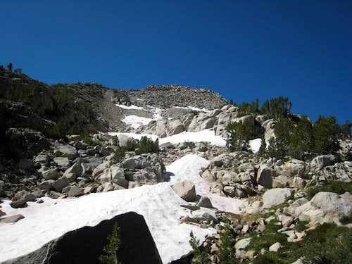 Moraine Slope on Way to Lamarck