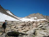 Approach to Lamarck Col