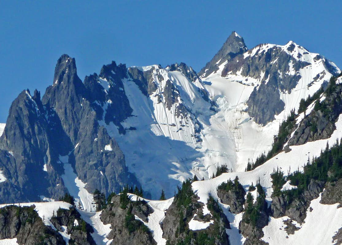 Mount Shuksan's North East Face