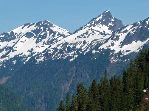 Goat Mountain from Ruth Mountain