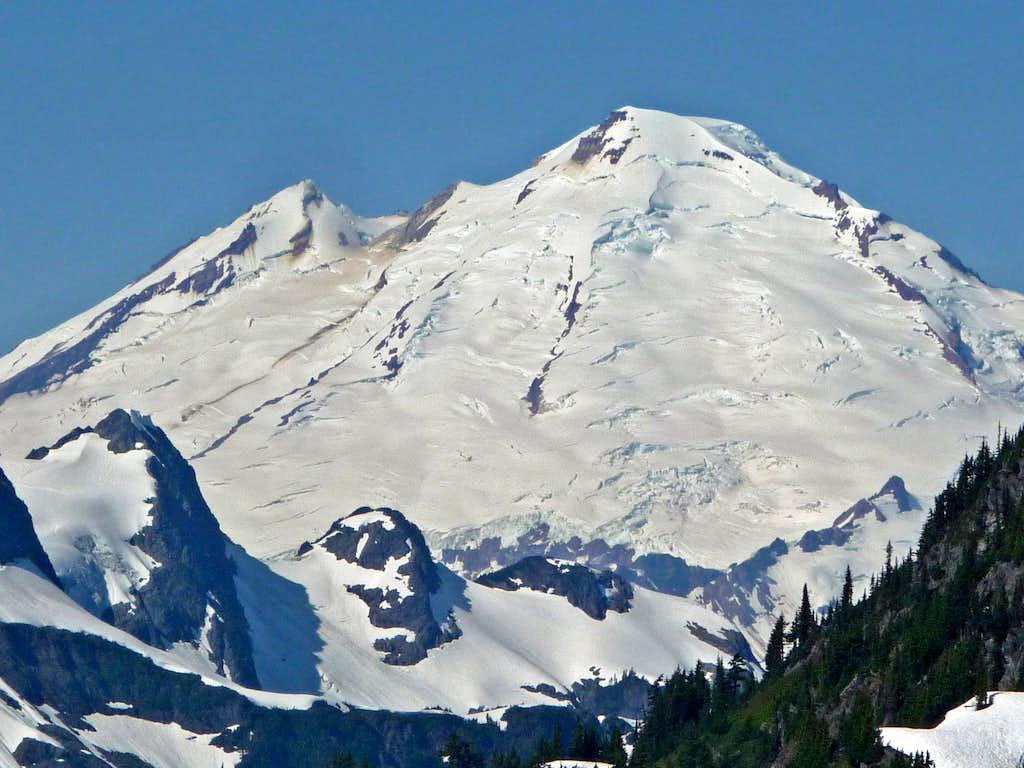 Mount Baker's East Face