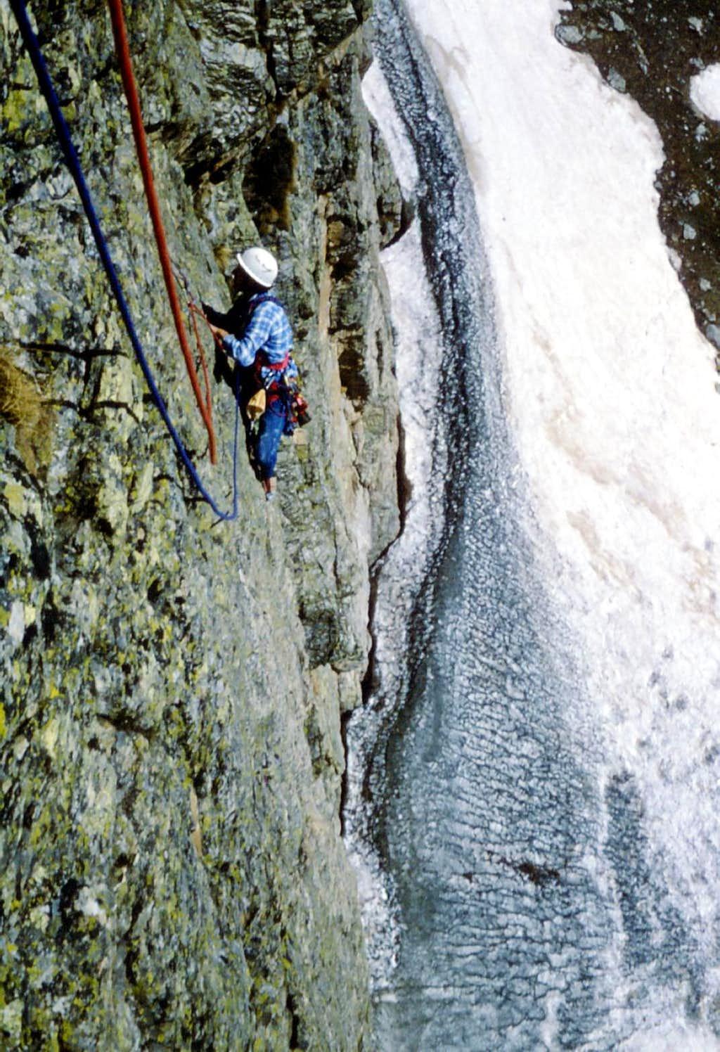 Rocca Castello - Climbing East Face