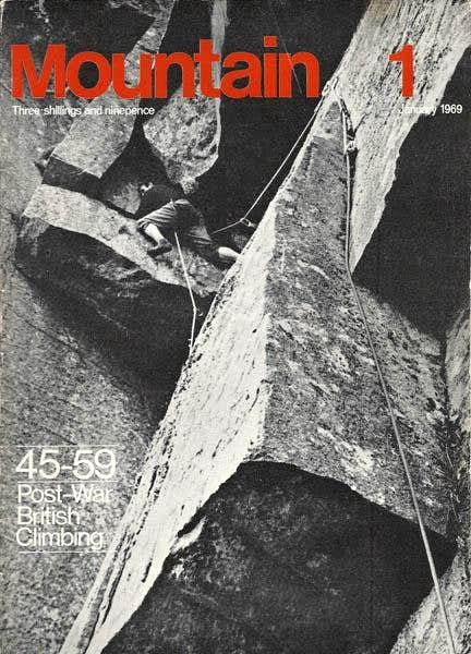 Mountain magazine #1, January 1969