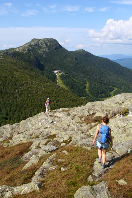 Mt Mansfield, and make it interesting