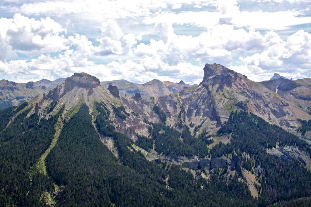 Dunsiname and Precipice