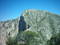 Guadalupe Peak taken from...