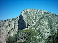 Guadalupe Peak taken from...