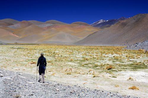 Nacimiento on the walk from Quemadito to Las Juntas