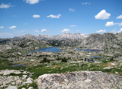 Lester Pass, Wind River Range