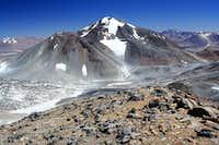 El Muerto from the summit of Medusa