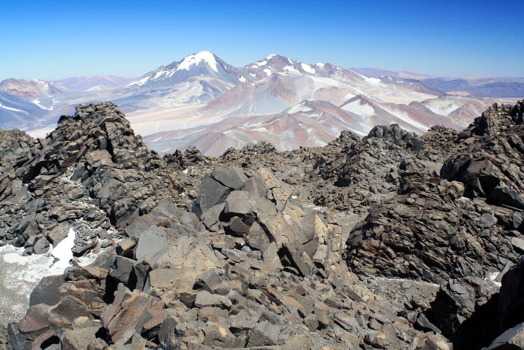 The summit of Cazadero/Walter Penck