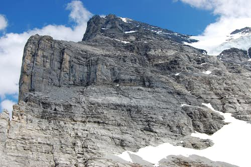 Eiger west flank from Rotstock
