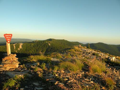 Lookout Mountain Summit Area