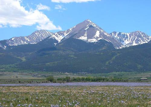 Photo taken of Horn Peak and...