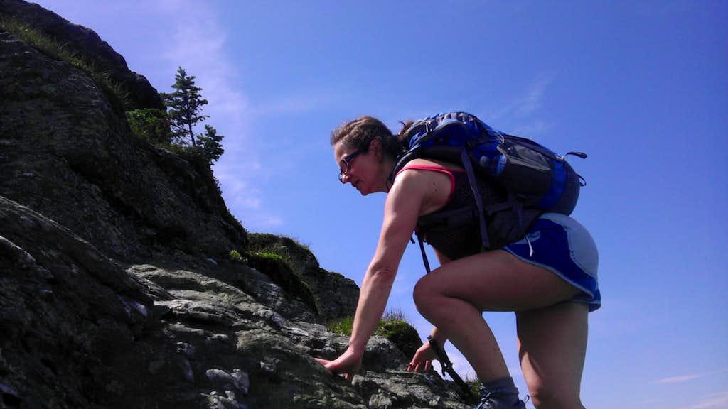 Climbing the Chin