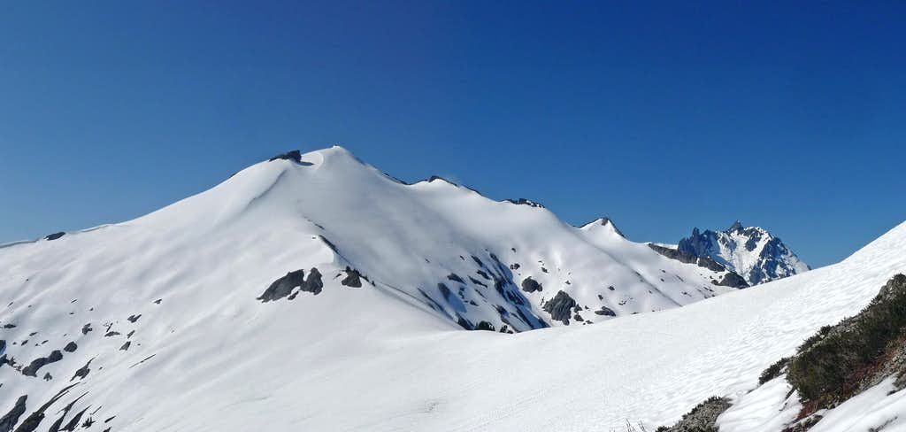 Ruth Mountain with Mount Shuksan