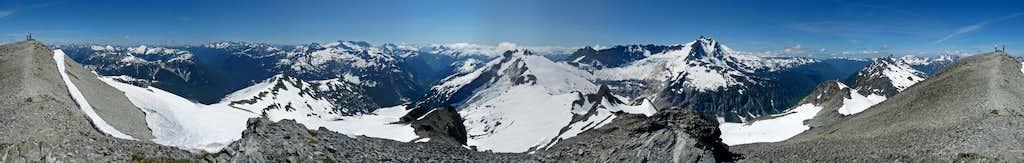 Ruth Mountain Panorama