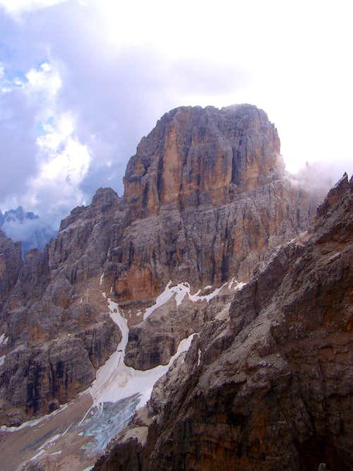 The main summit of Cristallo