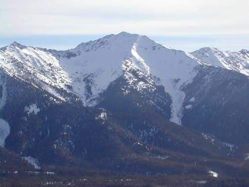 Galena Peak in the middle of...