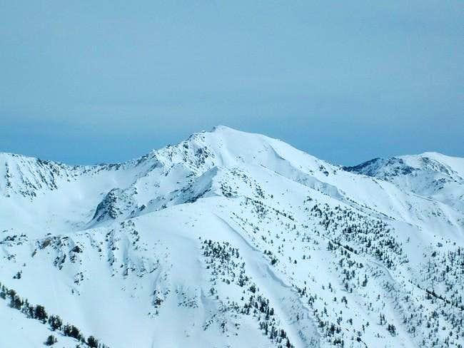 Galena Peak from nearby...