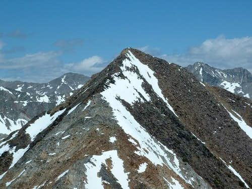 McIntyre Peak from Jacqueline...