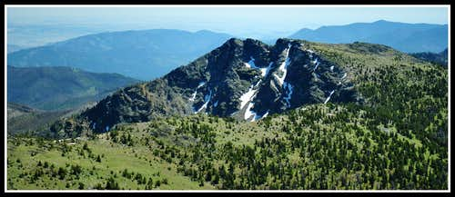 The North Face of Clark